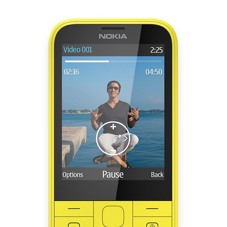 Nokia: 225 Dual SIM - keypadtelefoon met groot scherm