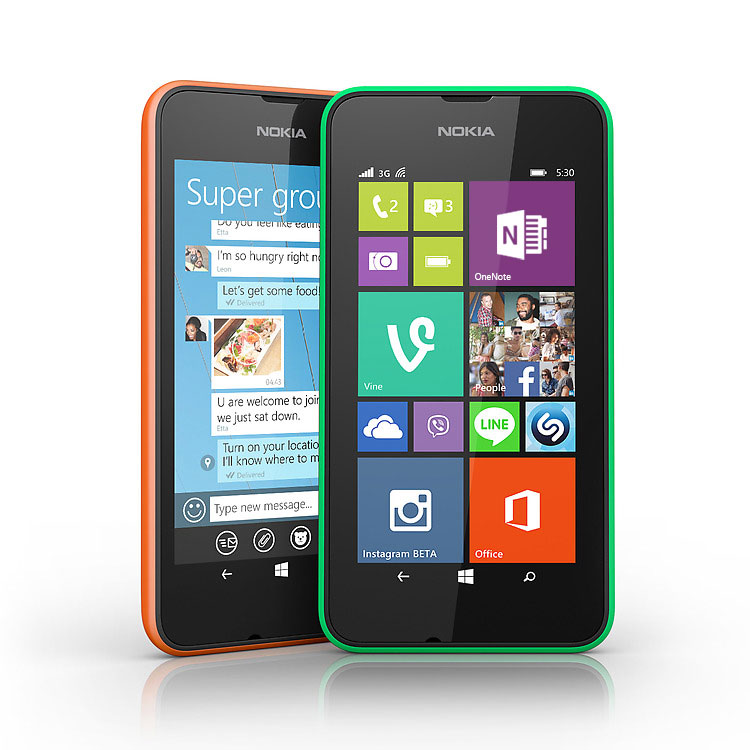Nokia Lumia 530 – Apps