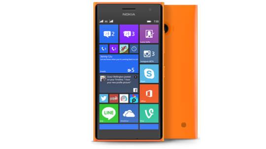 Lumia 730 Orange