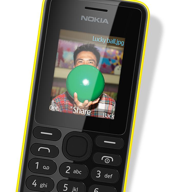 Nokia 108 met Slam