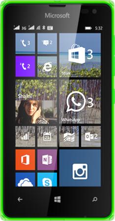 Nokia LUMIA-532-DSIM-SPECS-BRIGHT-GREEN