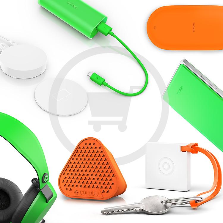 Kjøp fargerikt tilbehør i Microsoft Store