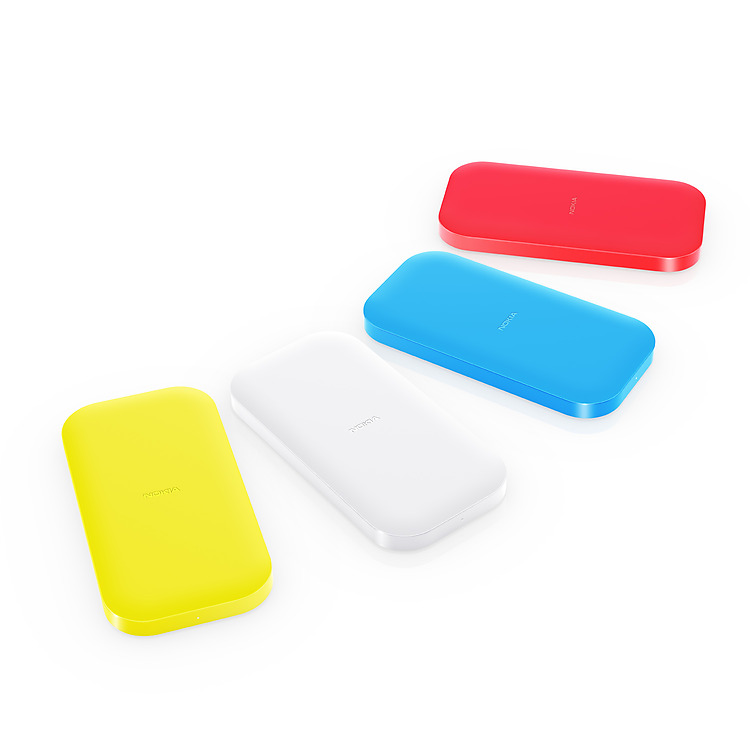 Nokia Portable Wireless Charging Plate DC-50 colours