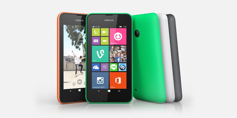 Nokia Lumia 530 hero