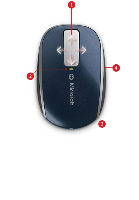 sculpt touch mouse features
