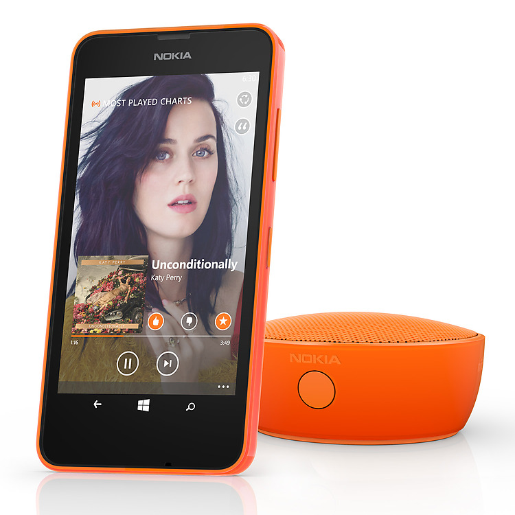 Lumia 635 MixRadio