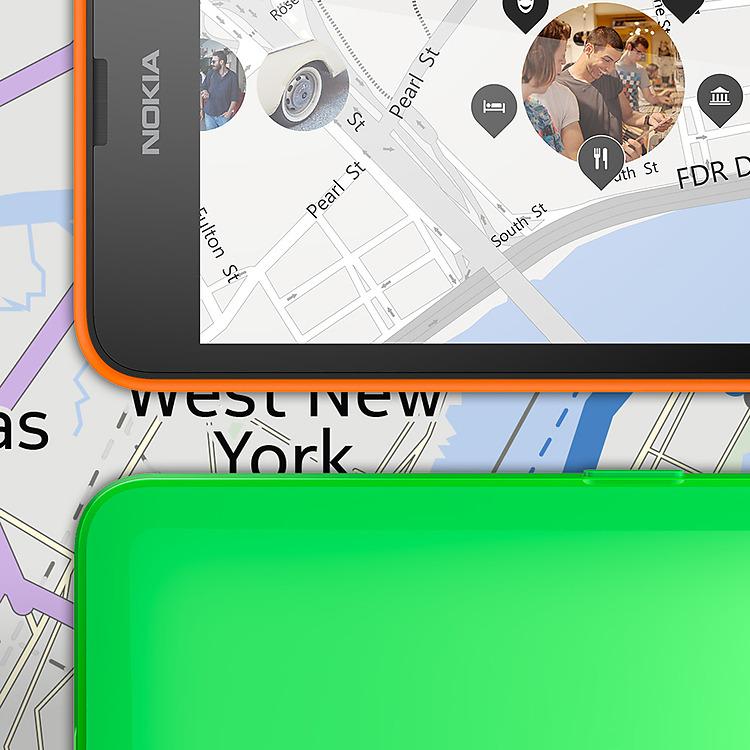 Lumia 635 HERE karte