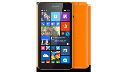 Lumia 535-ORANGE