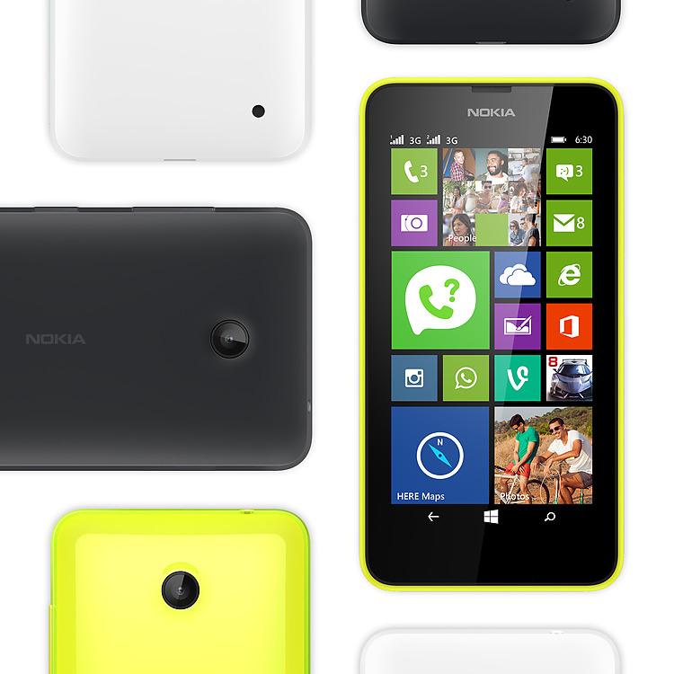 Nokia Lumia 630 Dual SIM – Farben