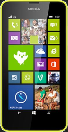 Lumia 630 SS yellow