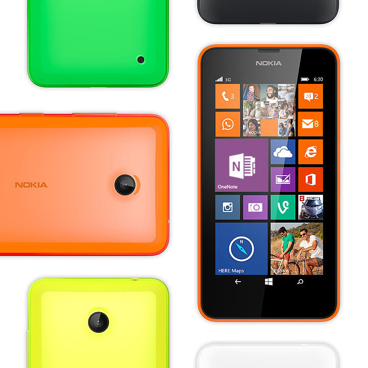 Nokia Lumia 630 Colours