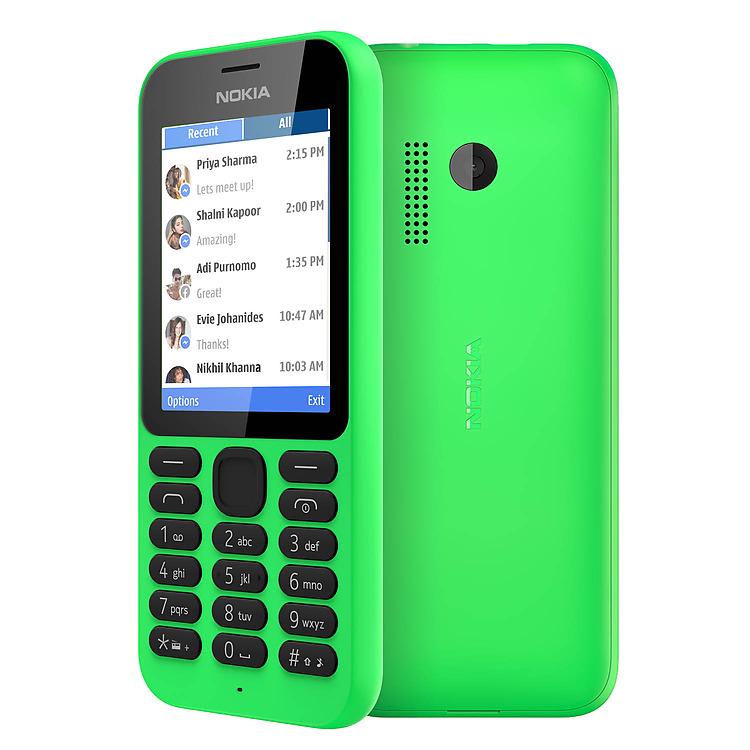 Nokia Dual SIM 215 Internet