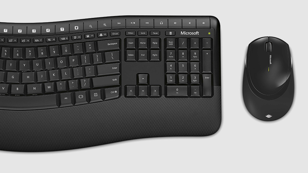Advanced encryption standard (AES) wireless keyboard and mouse