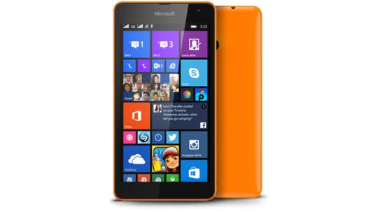 Lumia 535-DSIM-ORANGE