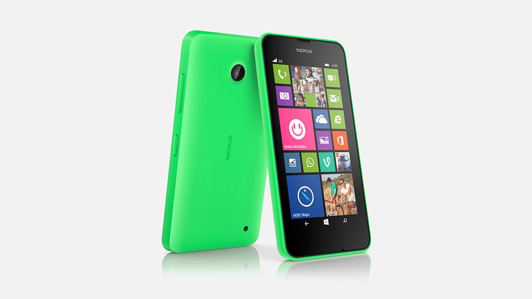 Nokia Lumia 630 hero2