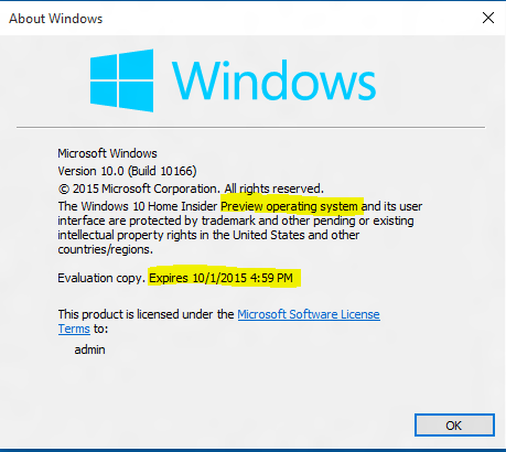 windows 10 insider preview 14251