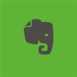 Evernote app tile