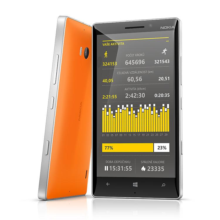 Nokia Lumia 930 Life Tracker Pro+ App