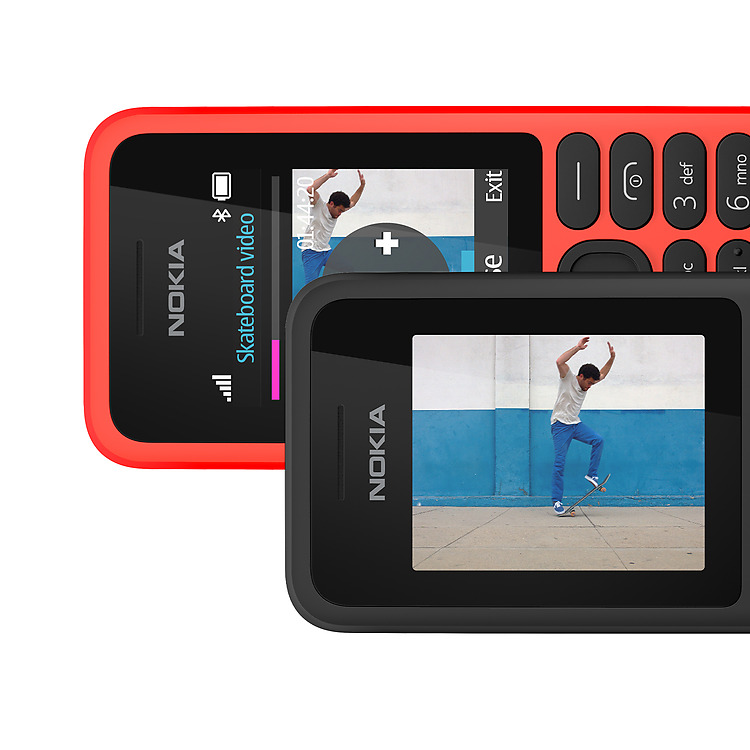 Nokia 130 video entertainment