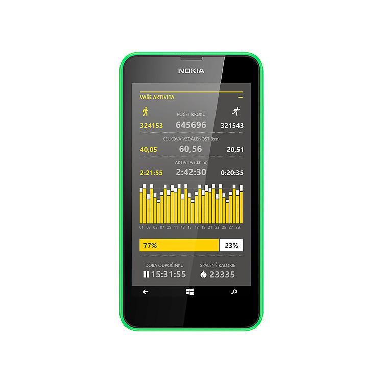 Nokia Lumia 635 Life Tracker Pro+ App
