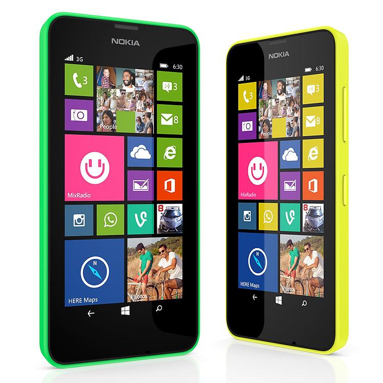 Aplicaciones del Nokia Lumia 630