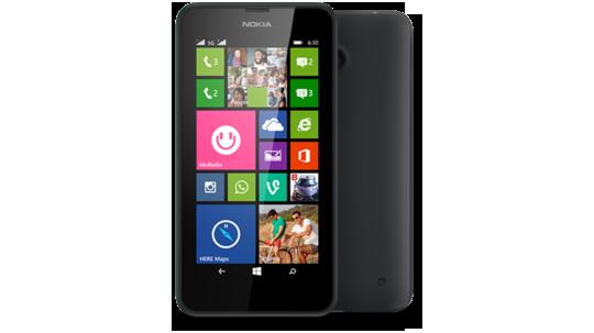 Lumia 630 com dois chips preto
