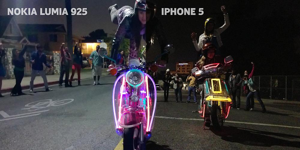 Nokia Lumia 925 vs iPhone 5