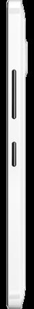 Side view of white Lumia 640 XL