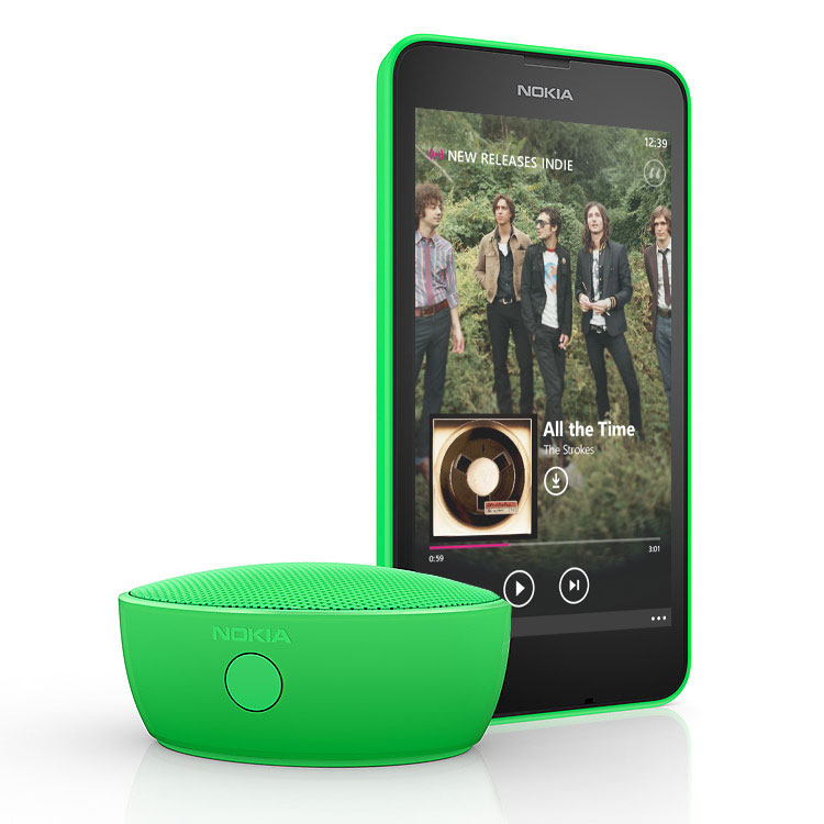 Nokia bluetooth mini speaker MD-12 compact design
