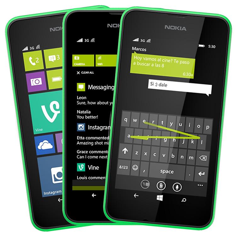 Nuevas funciones de Windows Phone en el Nokia Lumia 530