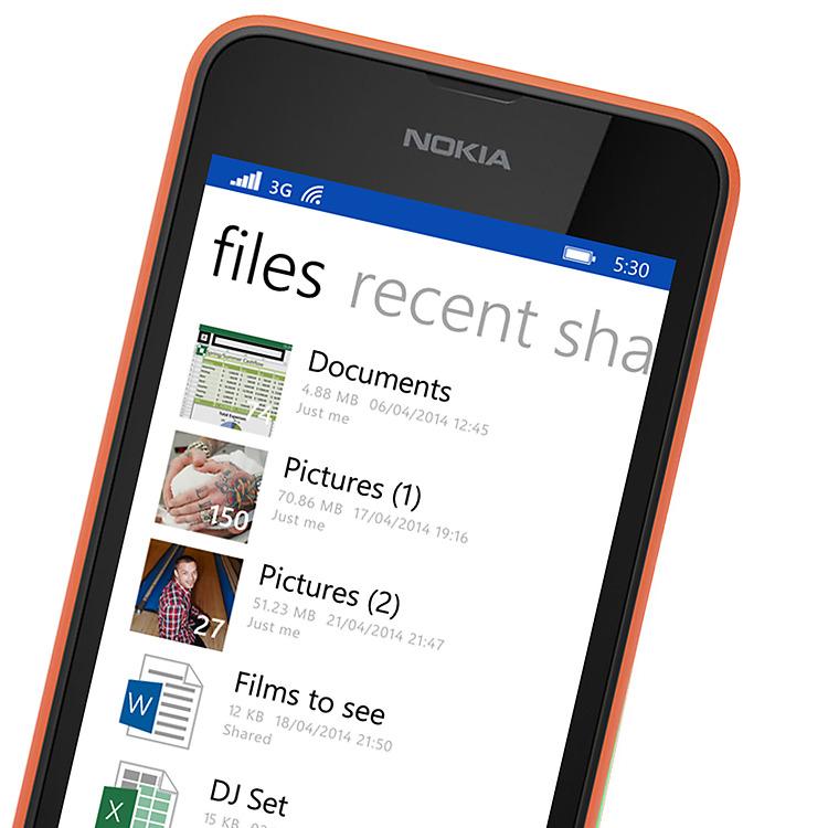 Nokia Lumia 530 Dual SIM OneDrive
