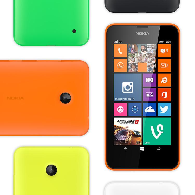 Nokia Lumia 630 – Farben