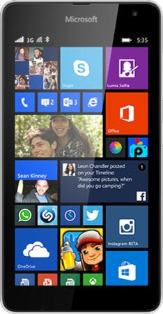 Lumia 535 SS White