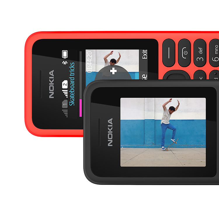 Nokia 130 Dual SIM video entertainment