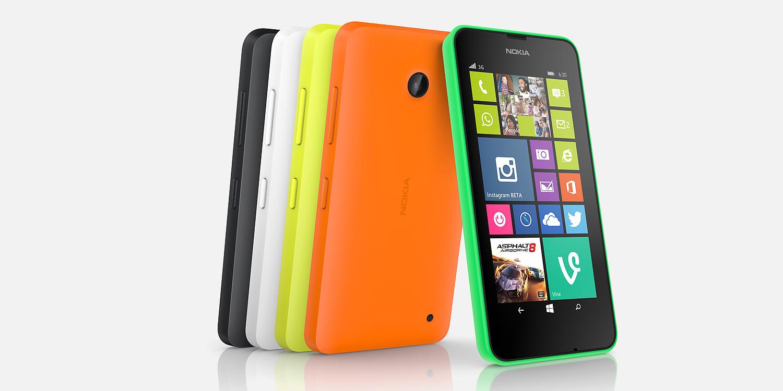 Nokia Lumia 630 hero