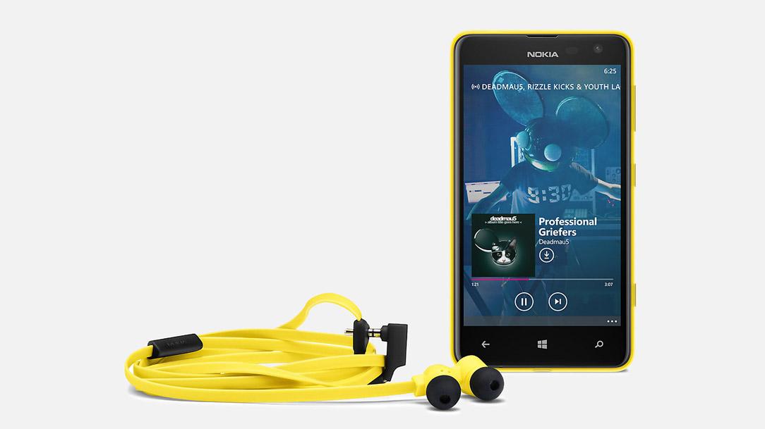 Nokia WH-510 Jaune